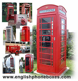 English Phone Boxes